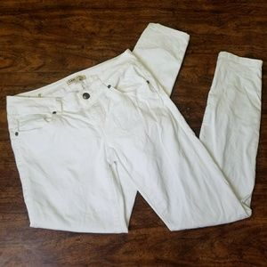 Cabi Skinny Jeans Style #219 White Size 2